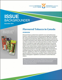 Flavoured Tobacco in Canada (English Thumbnail)