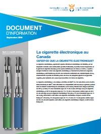 Les inhalateurs électroniques de nicotine (IÉN) au Canada document d'information