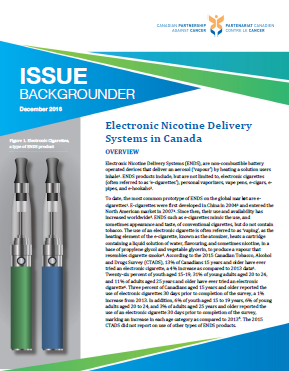 Electronic Nicotine Delivery Systems in Canada - thumbnail image