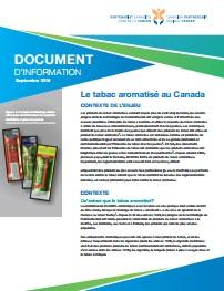 Le tabac aromatisé au Canada document d'information