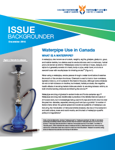 Waterpipe use in Canada backgrounder - thumbnail image